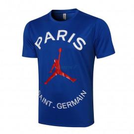 Camiseta de Entrenamiento PSG 2021/2022 Jordan Azul
