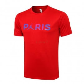 Camiseta de Entrenamiento PSG 2021/2022 Rojo Marca Polícromo