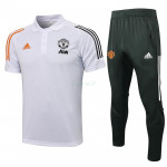 Polo Manchester United 2021/2022 Kit Blanco