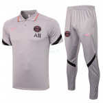 Polo PSG 2021/2022 Kit Gris Claro