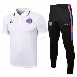 Polo PSG 2021/2022 Kit Balnco