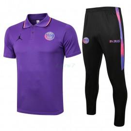 Polo PSG 2021/2022 Kit Púrpura