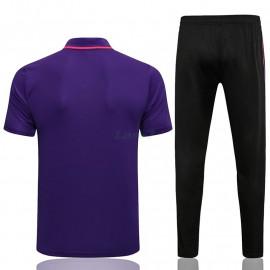 Polo PSG 2021/2022 Púrpura Marca Polícromo