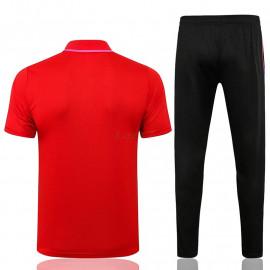 Polo PSG 2021/2022 Kit Rojo Marca Polícromo