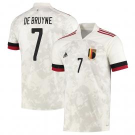 Camiseta DE BRUYNE 7 Bélgica 2ª Equipación 2021