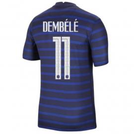 Camiseta Dembele 11 Francia 1ª Equipación 2021