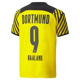 Camiseta HAALAND 9 Borussia Dortmund 1ª Equipación 2021/2022