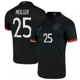 Camiseta MÜLLER 25 Alemania 2ª Equipación 2021