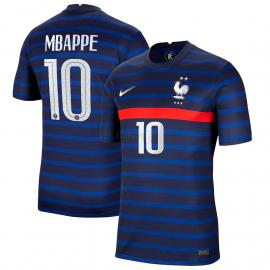 Camiseta MBAPPE 10 Francia 1ª Equipación 2021
