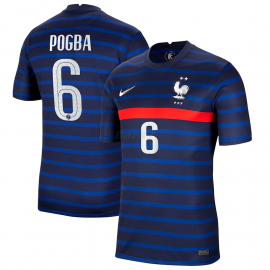 Camiseta POGBA 6 Francia 1ª Equipación 2021