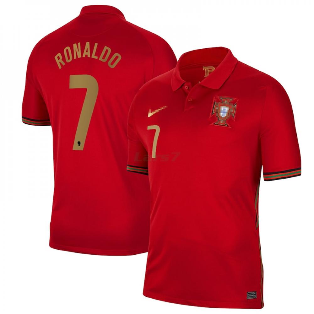 Camiseta RONALDO 7 Portugal 1ª Equipación 2021
