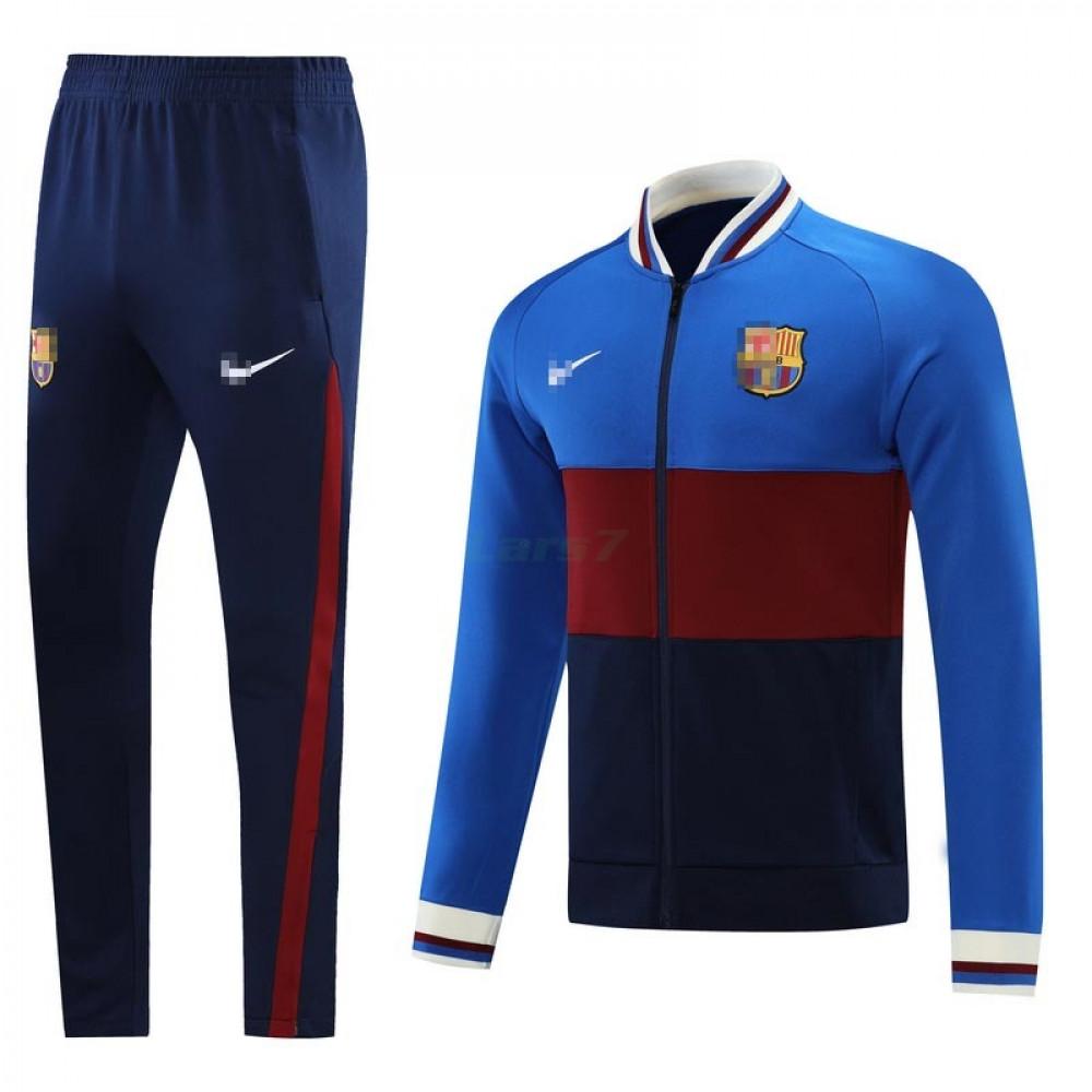 Chandal Barcelona 2021/2022 Azul/Rojo