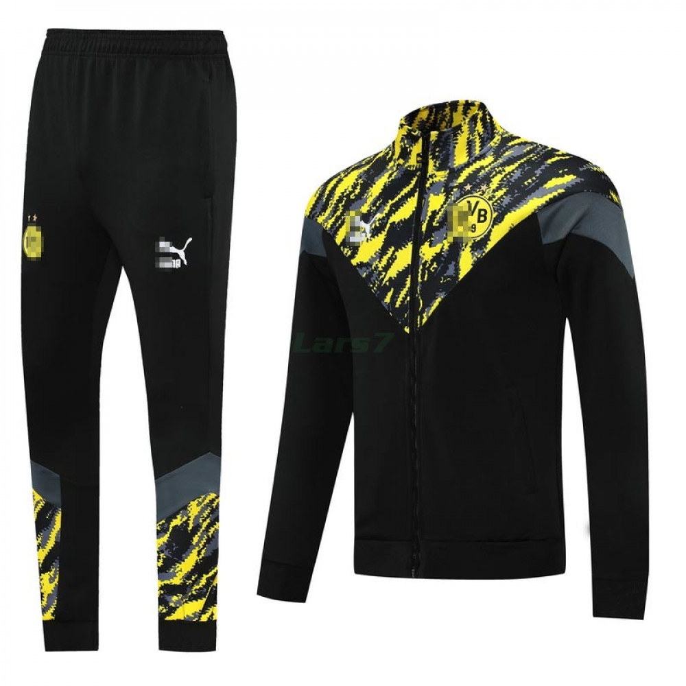 Chandal Borussia Dortmund 2021/2022 Cuello Alto Negro/Amarillo