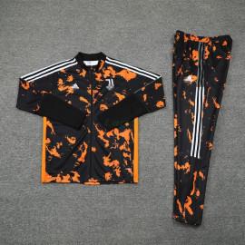 Chandal Juventus 2021/2022 Cuello Alto Negro/Naranja