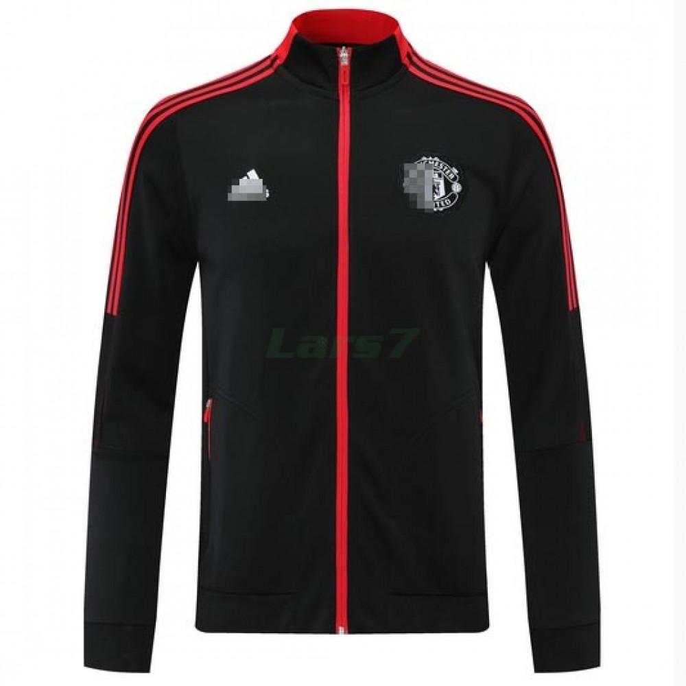 Chaqueta Manchester United 2021/2022 Cuello Alto Negro