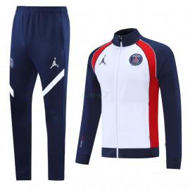 Chandal PSG 2021/2022 Cuello Alto Azul/Blanco/Rojo