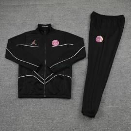 Chandal PSG 2021/2022 Cuello Alto Rosa Marca Negro