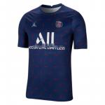 Camiseta de Entrenamiento PSG 2021/2022 Azul Marino/Rojo