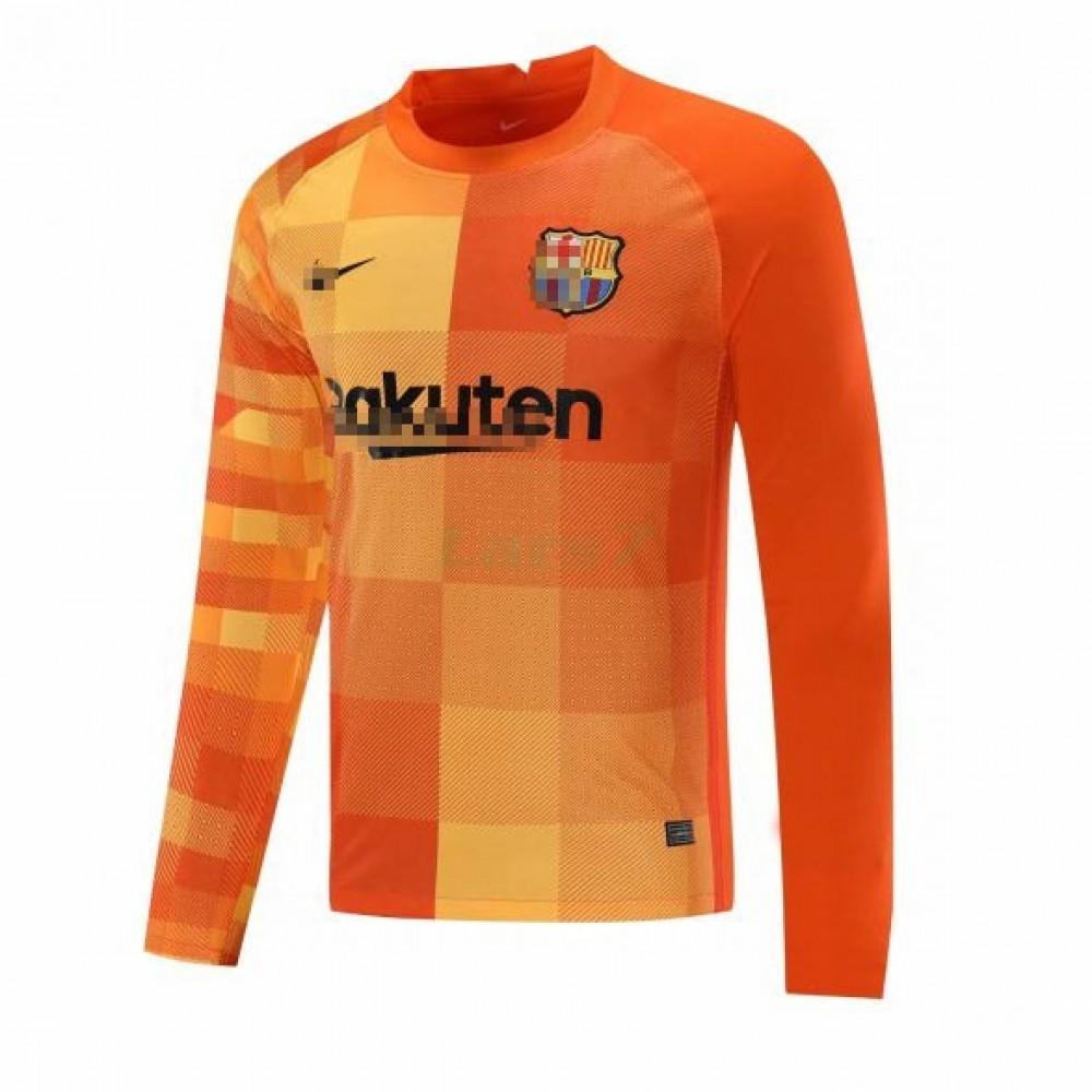 Camiseta de Portero Barcelona 2021/2022 Naranja ML