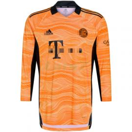 Camiseta de Portero Bayern Múnich 2021/2022 Naranja ML