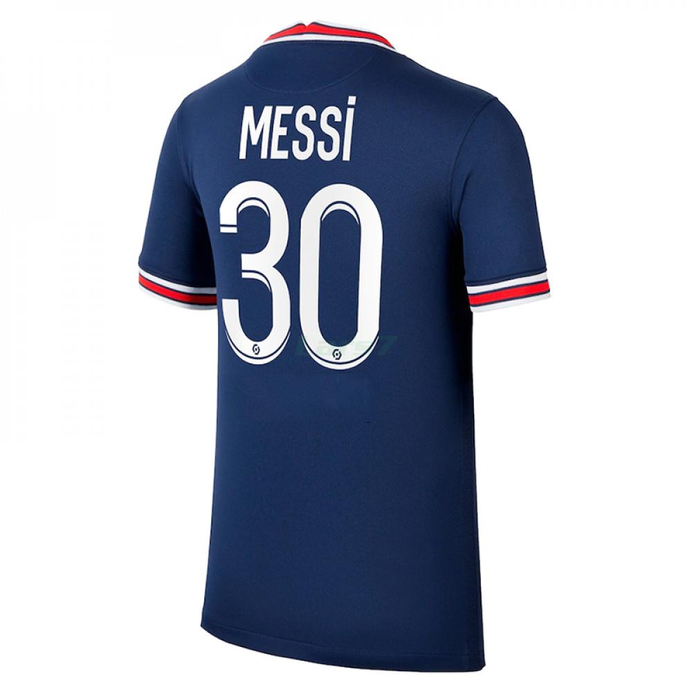 Camiseta MESSI 30 PSG 1ª Equipación 2021/2022