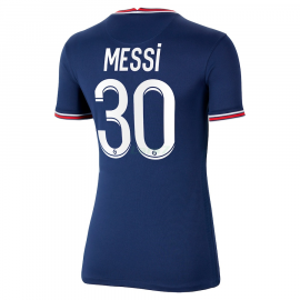 Camiseta MESSI 30 PSG 1ª Equipación 2021/2022 Mujer