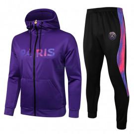 Chandal PSG 2021/2022 Con Capucha Púrpura