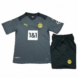 Camiseta Borussia Dortmund 2ª Equipación 2021/2022 Niño Kit