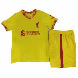 Camiseta Liverpool 3ª Equipación 2021/2022 Niño Kit