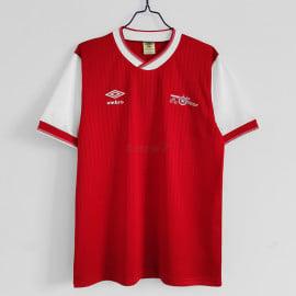 Camiseta Arsenal 1ª Equipación Retro 1983/86