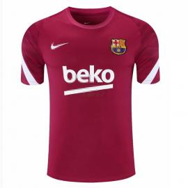 Camiseta de Entrenamiento Barcelona 2021/2022 Rojo