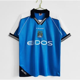 Camiseta Manchester City 1ª Equipación Retro 1990/91