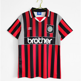 Camiseta Manchester City 2ª Equipación Retro 1994/95