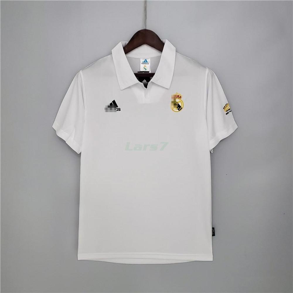 Camiseta Real Madrid 1ª Equipación Retro 2002/03