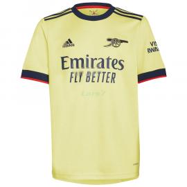 Camiseta Aubameyang 14 Arsenal 2ª Equipación 2021/2022
