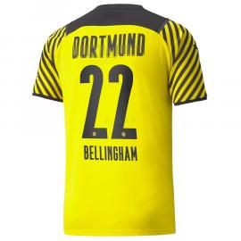Camiseta Bellingham 22 Borussia Dortmund 1ª Equipación 2021/2022
