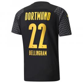 Camiseta Bellingham 22 Borussia Dortmund 2ª Equipación 2021/2022
