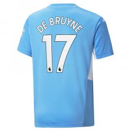 Camiseta De Bruyne 17 Manchester City 1ª Equipación 2021/2022