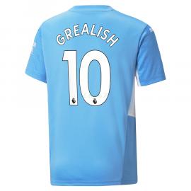 Camiseta Grealish 10 Manchester City 1ª Equipación 2021/2022