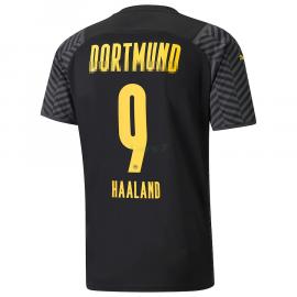 Camiseta Haaland 9 Borussia Dortmund 2ª Equipación 2021/2022