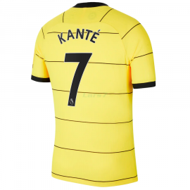 Camiseta Kanté 7 Chelsea 2ª Equipación 2021/2022