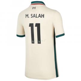 Camiseta M.Salah 11 Liverpool 2ª Equipación 2021/2022