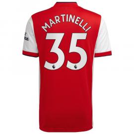 Camiseta Martinelli 35 Arsenal 1ª Equipación 2021/2022