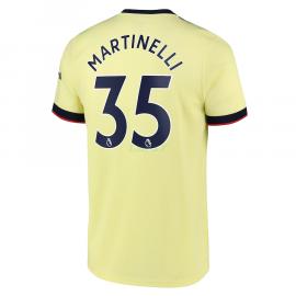 Camiseta Martinelli 35 Arsenal 2ª Equipación 2021/2022
