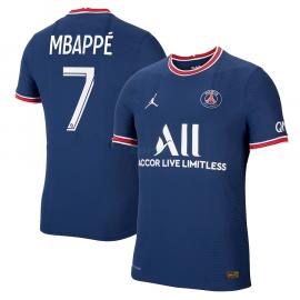 Camiseta Mbappé 7 PSG 1ª Equipación 2021/2022