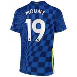 Camiseta Mount 19 Chelsea 1ª Equipación 2021/2022