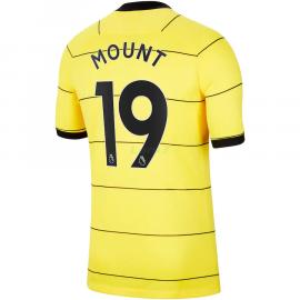 Camiseta Mount 19 Chelsea 2ª Equipación 2021/2022