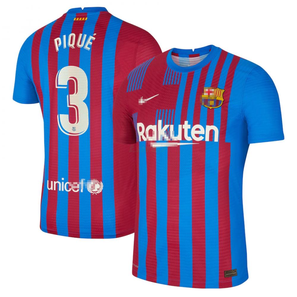Camiseta Pique 3 Barselona 1ª Equipación 2021/2022