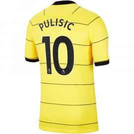 Camiseta Pulisic 10 Chelsea 2ª Equipación 2021/2022