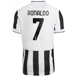 Camiseta Ronaldo 7 Juventus 1ª Equipación 2021/2022